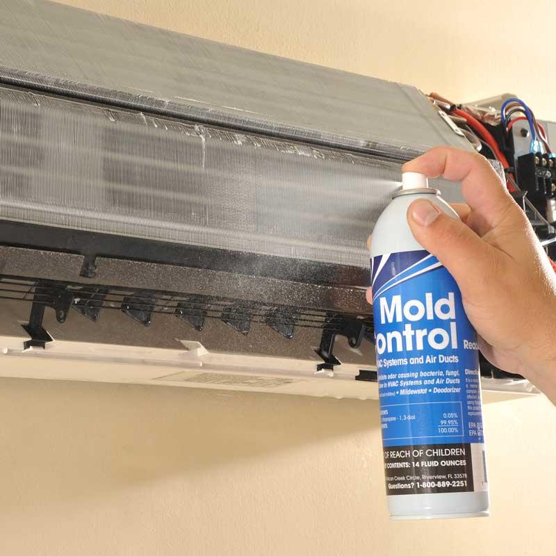 Mini Split Coil Cleaner Cleaning Evaporator Mold